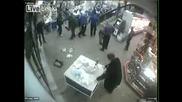 Бой в супермаркет