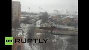 Украйна: В Краматорск валят ракети