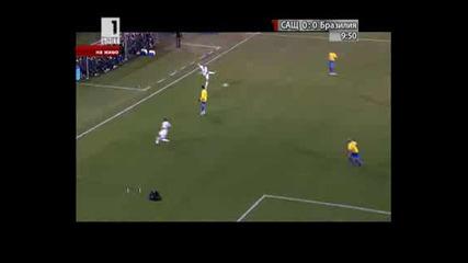 Сащ 1 - 0 Бразилия гол на Демпси