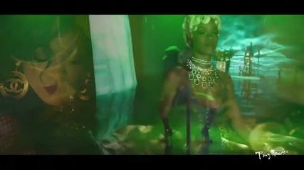Rihanna - Pour It Up (explicit) (cosmic Dawn Club Remix - Tony Mendes Video Re Edit)