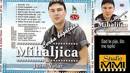 Jovan Mihaljica i Juzni Vetar - Sad te pije sto me ispilo (hq) (bg sub)