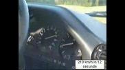 Bmw 325i Turbo 0 - 210km/h