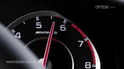 Mercedes A 45 A M G ( Реклама )