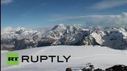 Полицаи почитат 70-тата годишнина от Втората световна война с изкачване на връх Елбрус