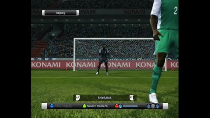 The best goalkeeper of Pes 11