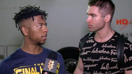 A frustrated Lio Rush lashes out at Tyler Breeze: WWE.com Exclusive, Feb. 19, 2020
