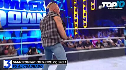 Top 10 Mejores Momentos de SmackDown: WWE Top 10, Oct 22, 2021