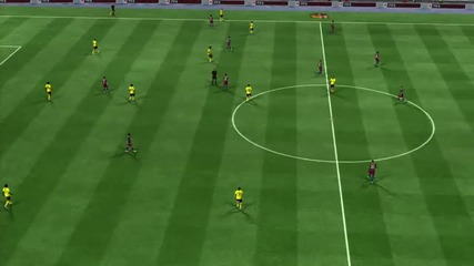 Barcelona vs Arsenal - Fifa 11