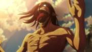 Attack on titan - [ Shingeki no Kyojin ] - { Бг Субс } Season 3 episode 1 Високо Качество