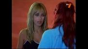 Миа и Роберта си говорят[без да се карат xd]..диего и Роберта...