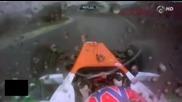 F1 Гран при на Бразилия 2012 - Di Resta се разбива в стената в последните обиколки [hd][onboard]