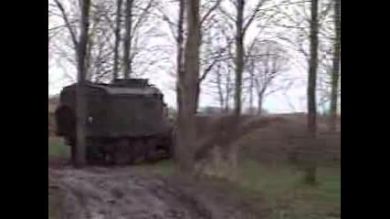 Russian Zil 6x6 Truck Goes Offroading