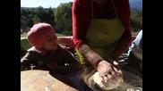 Еко ферма Елата- Фестивал на Киселото мляко - Направа на Ювка от баба Калинка