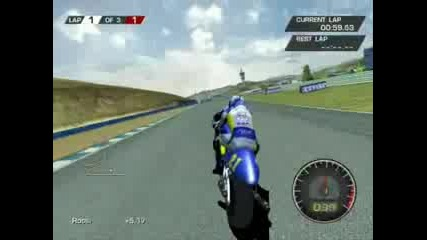 Най - Якото Каране В Играта Moto GP