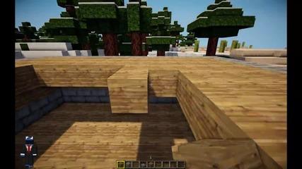 Minecraft Tutorial, как да си направим хубава модерна къща!