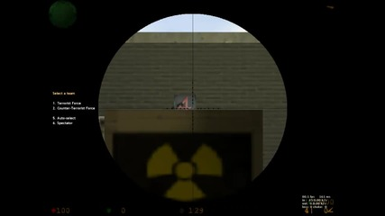 Double headshot with awp + wallbang !