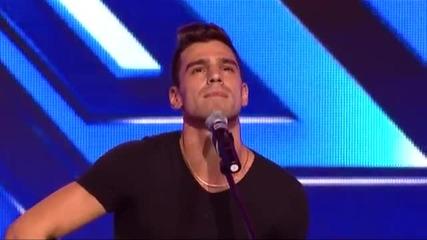 Виктор Самсонов - X Factor (09.09.2014)