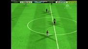 Fifa 10 Центриране на Делап и Гол На Тунджай
