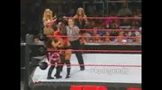Wwe - Mickie James, Trish Stratus, Ashley срещу Victoria, Candice, Torri Wilson