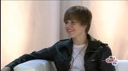 Интервю на Justin Bieber ( Summertime Ball )