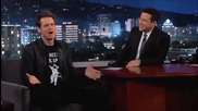 Jim Carrey on Jimmy Kimmel Live (illuminati)