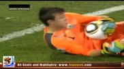 22.06.2010 Мексико - Уругвай 0:1 Гол на Луис Суарес - Мондиал 2010 Юар