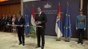 Serbia: PM Vucic and Orban discuss refugee crisis in Belgrade