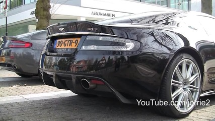 Aston Martin Dbs - Супер звук