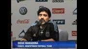Марадона срещу критиците