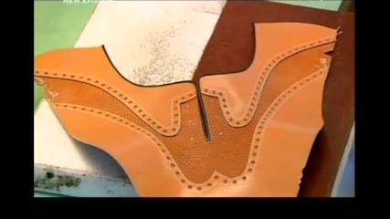 Как се прави - Обувки от естествена кожа - S13e10 - с Бг субтитри