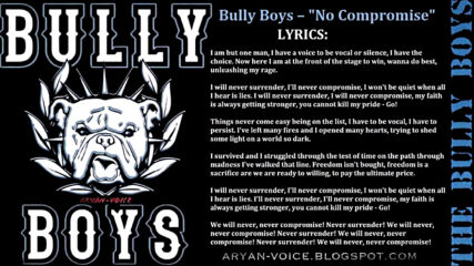 Bully Boys – No Compromise