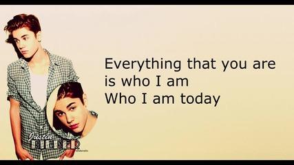 Justin Bieber - Turn To You