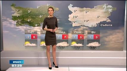 Прогноза за времето (28.11.2014 - сутрешна)