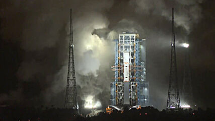 China: Chang'e-5 lunar exploration rocket took off from Wenchang