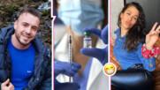 """Звезди от """"София Ден и Нощ"""" се похвалиха - минаха в отбора на ваксинираните"""
