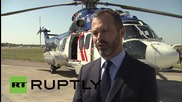 Russia: H225 Super Puma helicopter showcased at MAKS 2015