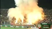 06.06.2009 - Bulgaria 1 - 1 Ireland - Torches lighted up stadium Vasil Levski