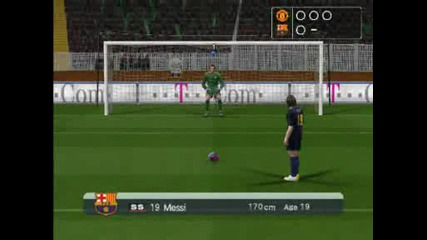 Pro Evolution Soccer 6 Penalty Shoot Out Barca vs Manchester United