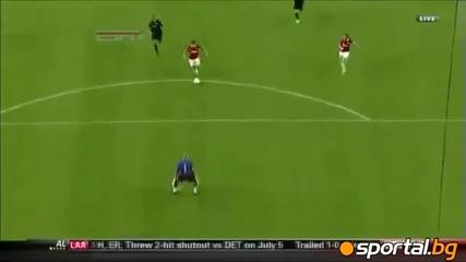 Manchester United Vs. Barcelona 2:1