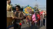 В Тайланд се проведе традиционната надпревара с бикове