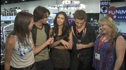 Interviews with Vampire Diaries cast at Comic Con 2010 part 2/2