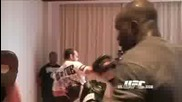 Hit Mitts with Cheick Kongo - Ufc 99