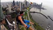 Екстремно спускане с парашут в Панама ..