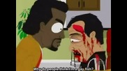 Kanye West kills Carlos Mencia [sout park]