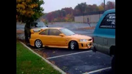 Паркиране С Ръчна И Много Газ