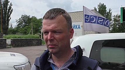 Ukraine: OSCE comes under fire in Donetsk region – Dep. Chief Monitor Hug