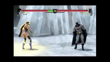Mortal Kombat Vs Dc Universe Kitana Fatality 2