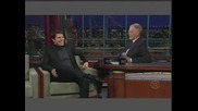 Tom Cruise On David Letterman Part 1