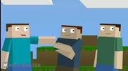 пародия на Minecraft
