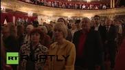 Russia: Bolshoi Theatre observes moment of silence in honour of Plisetskaya